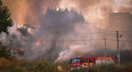 Incendios cerca de Beitar