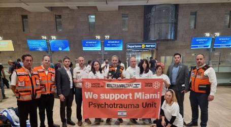 Las FDI y Hatzalah Israel envían ayuda de emergencia a Miami
