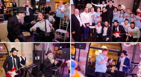 Avraham Fried celebró con los chicos de educación especial