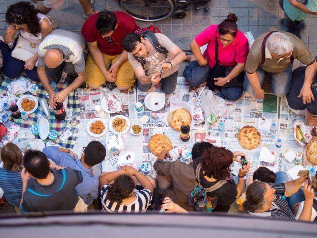Istiklal Iftar - Gregory Dziedzic