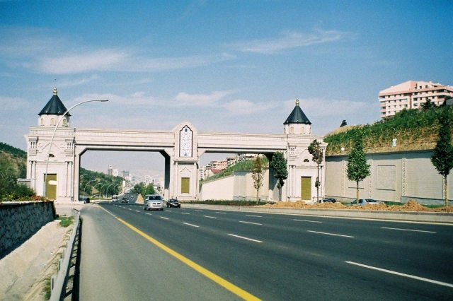 Konya Road gate