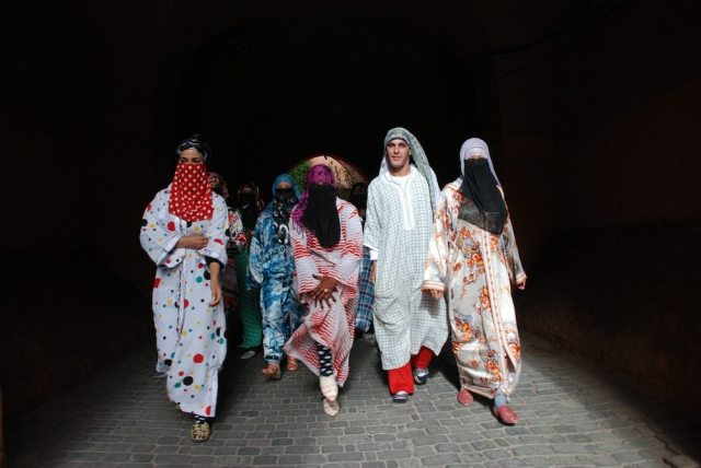 Hassan Hajjaj – Karima: A Day in the Life of a Henna Girl (courtesy the artist and The Third Line)