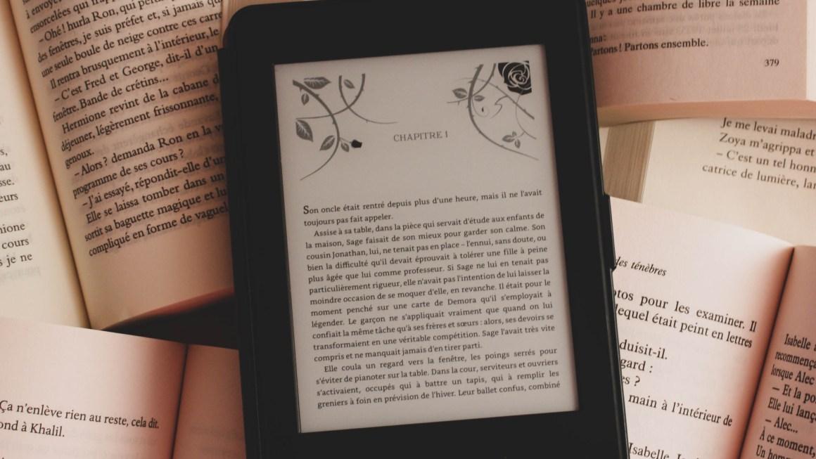 Livre papier & liseuse électronique : le kit de survie de la lectrice compulsive ?