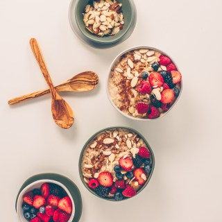Creamy Oatmeal and Berries