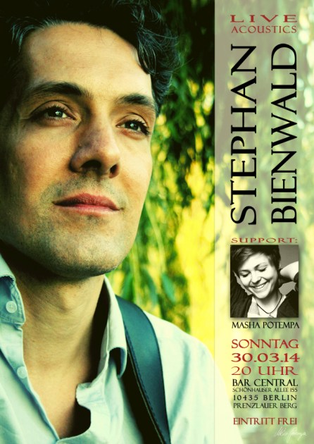 Konzert Stephan Bienwald (Support: Masha Potempa)