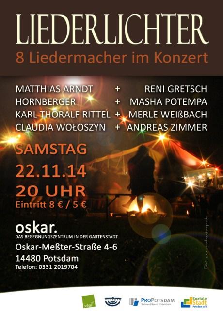 Liederlichter Konzert in Potsdam