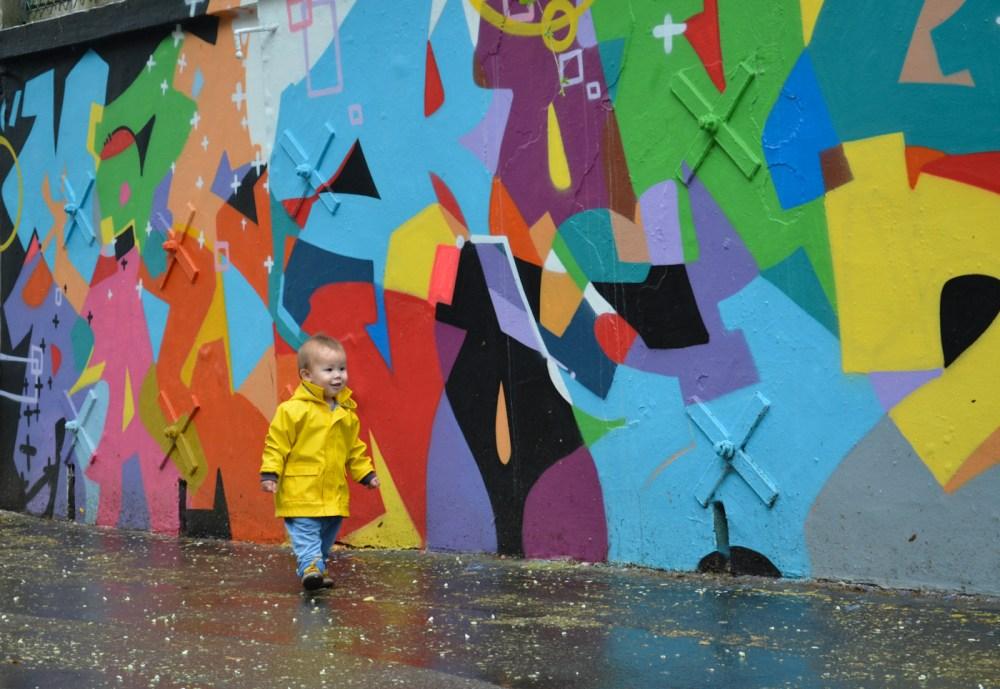 On the street art scene (1/4)