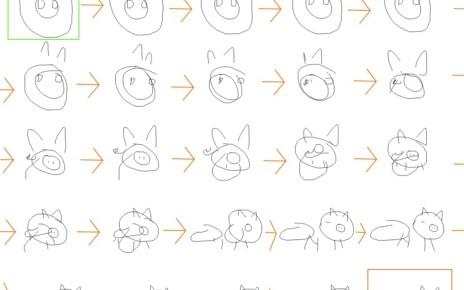 image04 Google藉由類神經網絡教導電腦如何「畫畫」