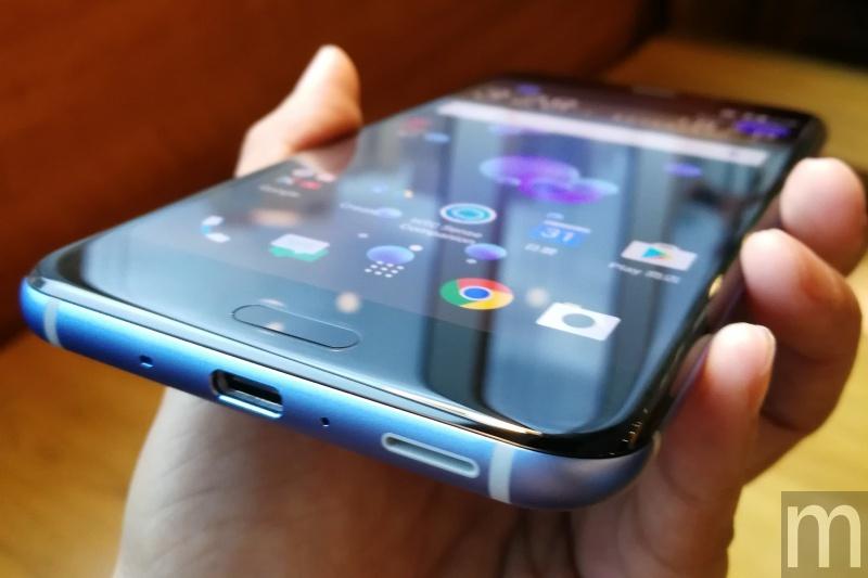 HTC U11 07 20年第11款旗艦機 HTC U11加入壓握手勢、支援亞馬遜數位助理與紅色外觀