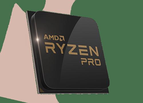 20201 amd ryzen pro chip angle left 500x360 對應企業商用市場需求 AMD下半年推出最高16核心的Ryzen Pro系列處理器