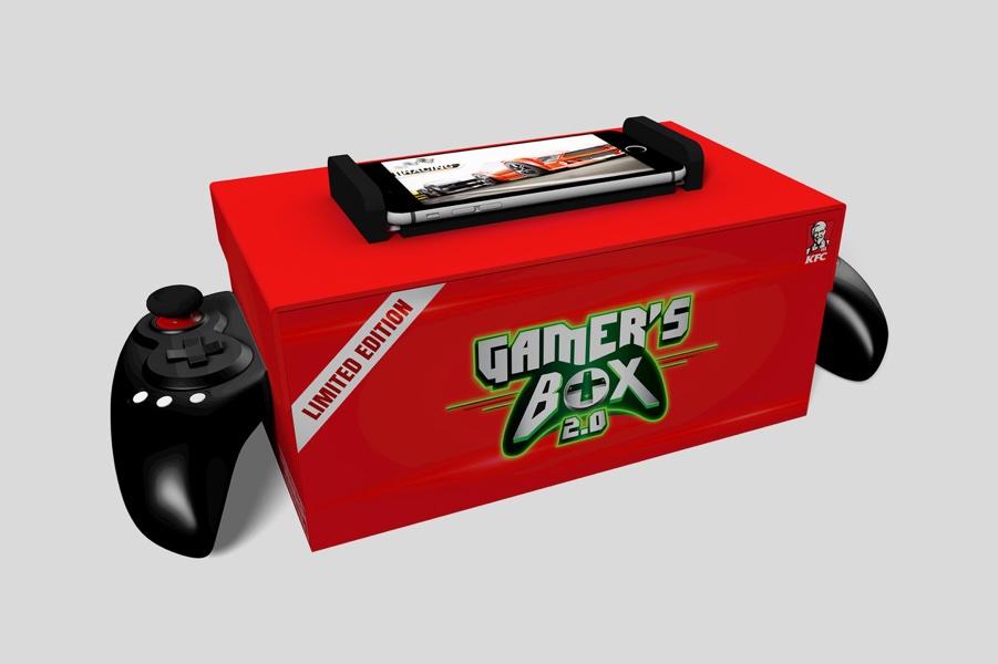 KFC Mountain Dew Gamer s Box 2.0.0 resize 肯德基再度推出創意行銷 這次將餐盒變成藍牙搖桿
