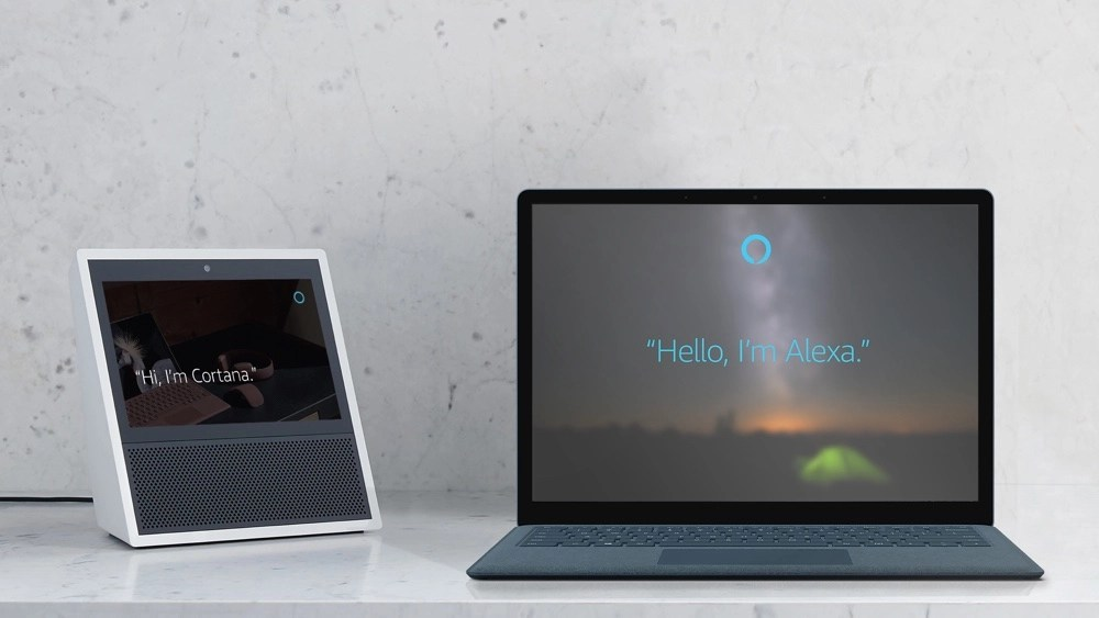 AlexaCortanaImage resize 互通有無 微軟Cortana、亞馬遜Alexa最快年底前結盟