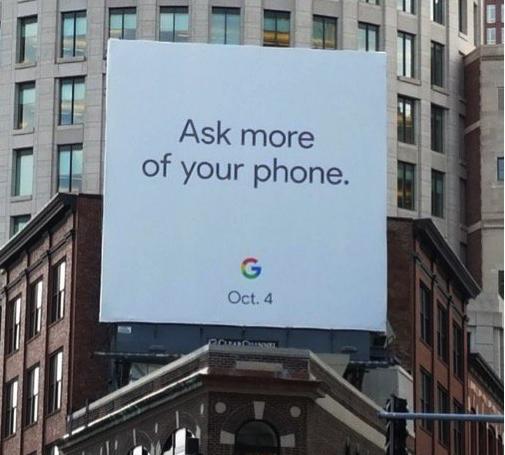 RUGT4G1 Google Pixel 2確定將於10月4日揭曉