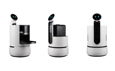 resize LG Concept Robots White Background LG揭曉全新機器人品牌CLOi 推出更多機種服務大眾