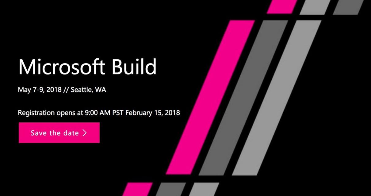 螢幕快照 2018 02 09 上午6.40.36 微軟年度開發者活動Build 2018時間確認 強碰Google開發者活動時程