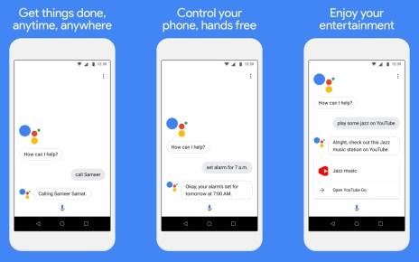 03 side Google也在Android Go裡提供簡化版Google Assistant服務