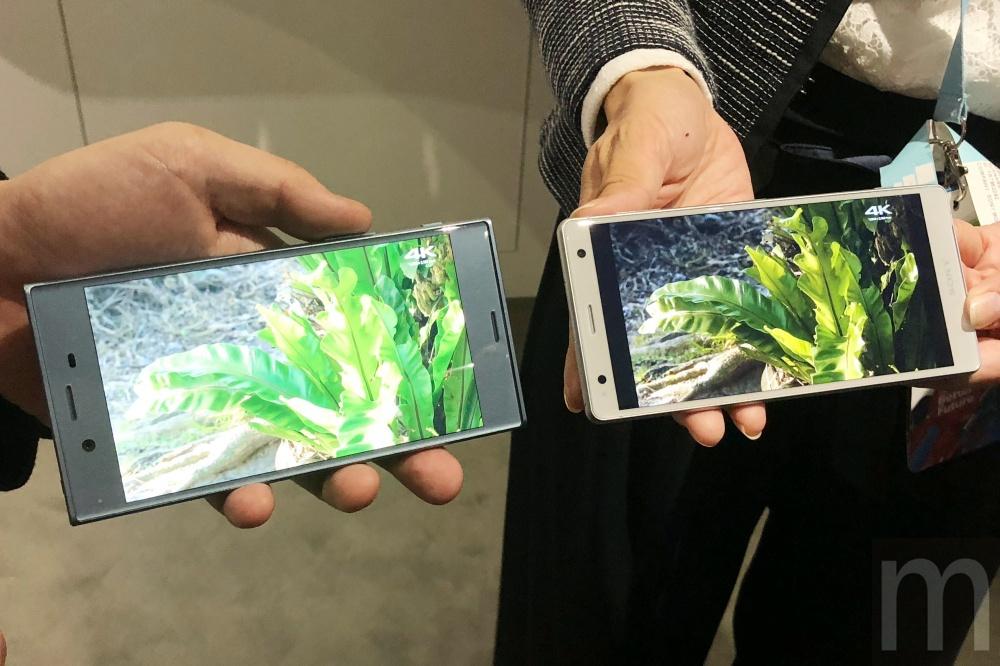 Sony 06 Sony的雙鏡頭模組是以超越人眼為目標,新機在沉浸體驗上強化「觸覺」效果
