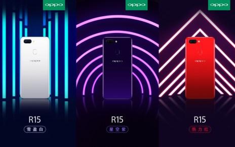 5edf2f1320e34562b73027f958ad7b16 side 導入「瀏海」全尺寸螢幕 OPPO R15確定推出星空紫、雪盈白與熱力紅三款配色