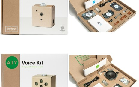 AIY Vision Kit Packaging2 side down Google再推AIY Project厚紙板創客套件 培育更多科學想像力