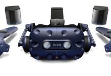 resize HTC新聞照片 HTC VIVE Pro推出商用套裝服務 搭載升級款定位系統、控制手把