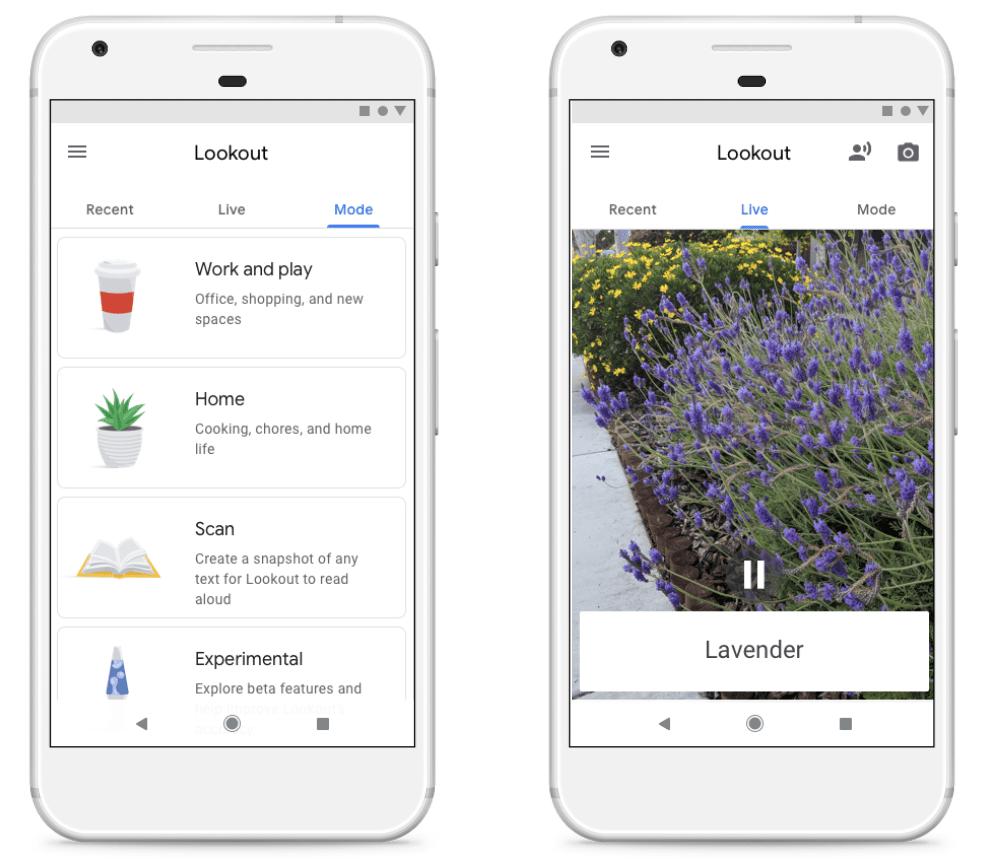 Lookout Screenshot.max 1000x1000 Google為視障者打造可協助「觀看」前方影像的應用服務