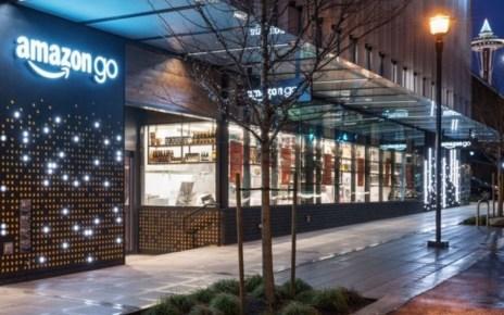 resize go gallery exterior. V534007254  亞馬遜確認將在紐約啟用第四家Amazon Go無人商店