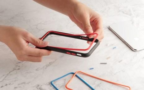 新聞照片三:可自由變換手機殼配件顏色 犀牛盾針對iPhone XR推出多彩模組化保護殼 交換鏡頭配件將對應更多Android旗艦手機