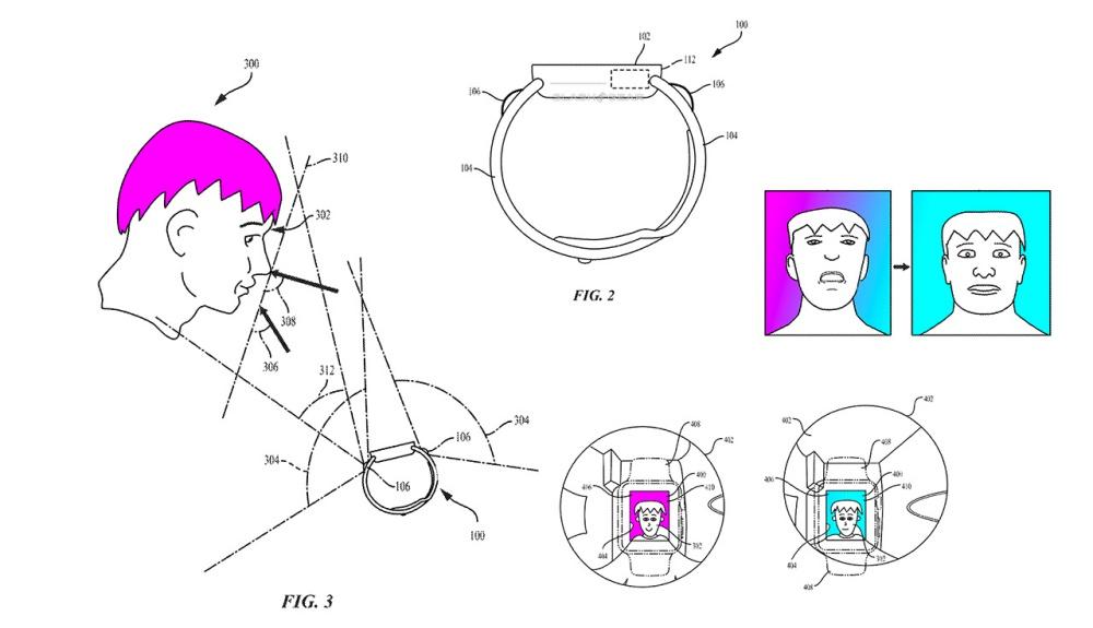 watcht234 蘋果曾經提出將視訊鏡頭用於Apple Watch的設計