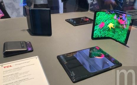 IMG 3876 1 TCL將以自有品牌推行螢幕可凹折手機 最快明年以親民價格推出