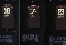 smart jersey 0 NBA展示可透過app改變名稱、編號的未來球衣
