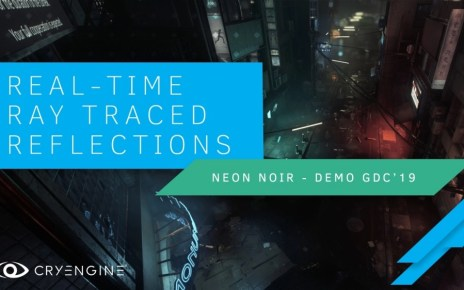 RayTRaced Reflections header Crytek旗下遊戲引擎CRYENGINE將使即時光影追跡表現更容易實現