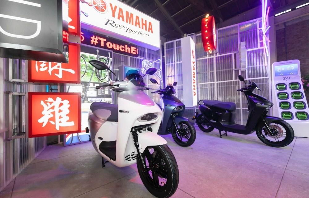 Yamaha EC 05 發表會現場照片02 YAMAHA攜手Gogoro打造首款電動車EC 05亮相,預計7月開放預購