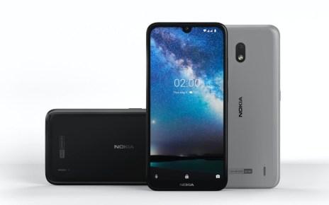 HMD Global揭曉入門機種Nokia 2.2,同樣搭載水滴瀏海造型螢幕