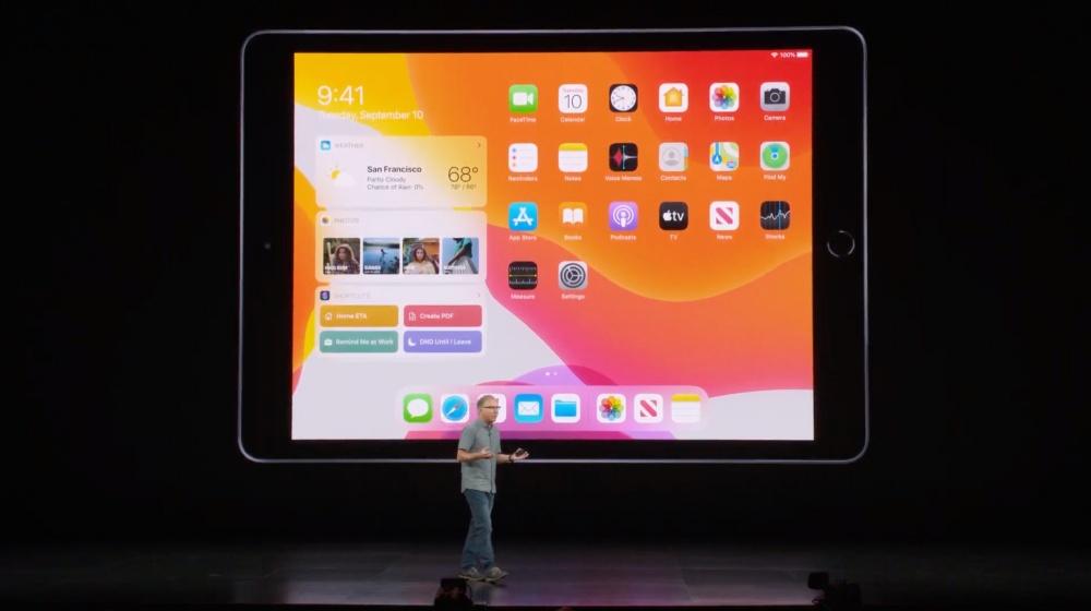 蘋果10.2吋iPad揭曉 取代既有9.7吋版本 支援第一代Axple Pencil 售價329美金