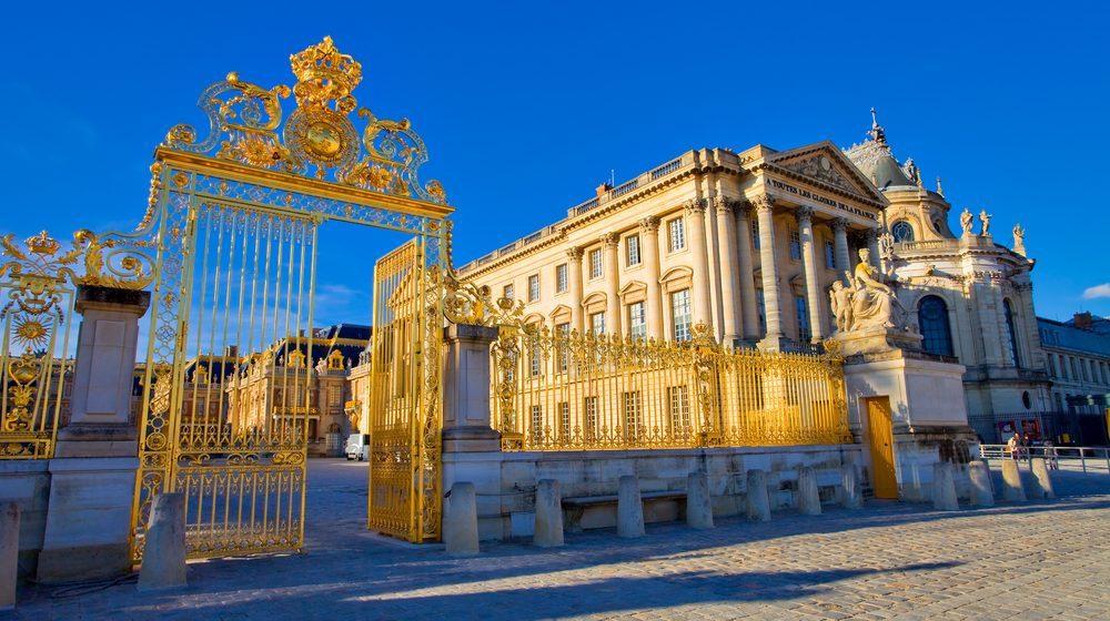 207 Chateau de Versailles exterieur porte detail Google讓使用者能透過VR一覽法國凡爾賽宮細節