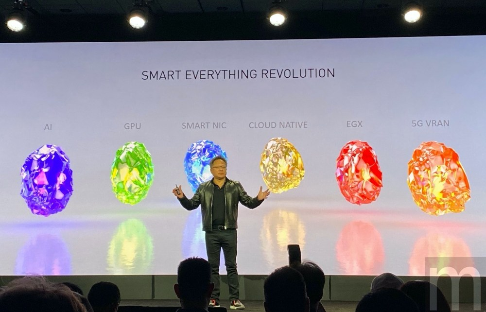IMG 9205 黃仁勳:隨著5G網路發展,未來邊緣運算將變得更加重要