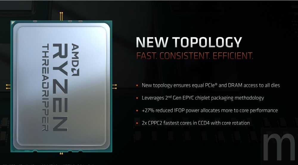 mashdigi capture 2019 11 25 上午2.11.23 AMD確定明年推出64核心設計的Ryzen Threadripper 3990X,還有機會再往上推?