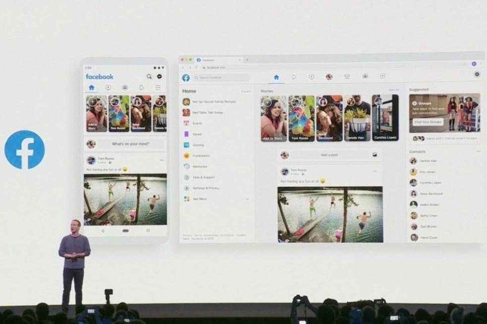 螢幕快照 2019 05 01 上午1.25.55(2) 1 Facebook預計在春季換上全新設計介面,視覺更為簡潔、增加黑暗模式