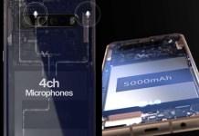 EQQJ tcWsAAeBcf side 1 LG V60 ThinQ將搭載4組麥克風、4鏡頭主相機與5000mAh電池容量