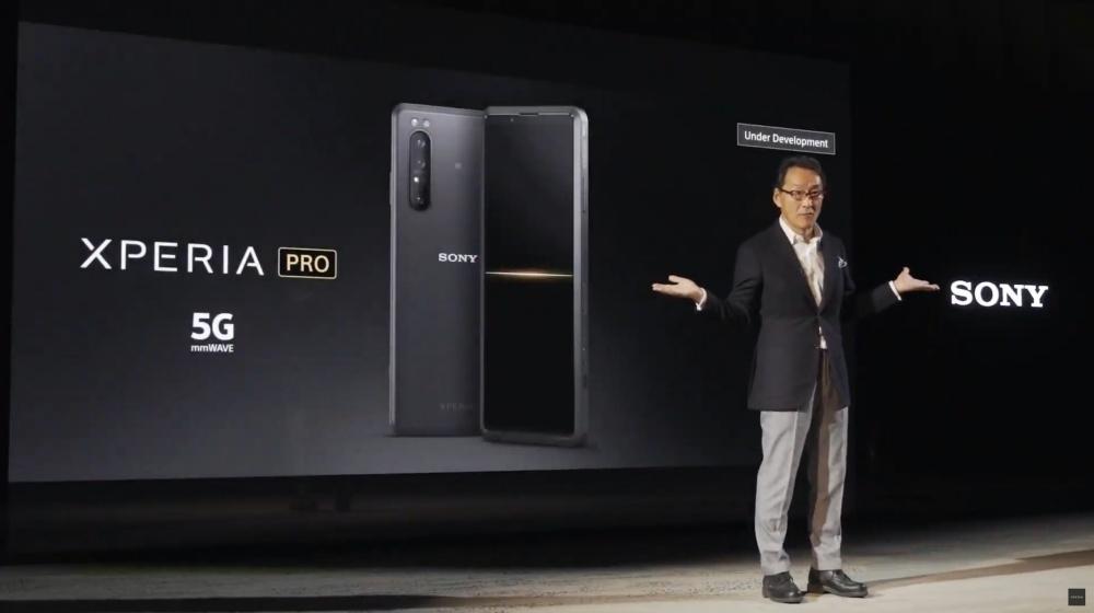 mashdigi capture 2020 02 24 下午3.51.52 2 同時支援6GHz以下頻段與毫米波 Sony揭曉開發中旗艦手機Xperia PRO