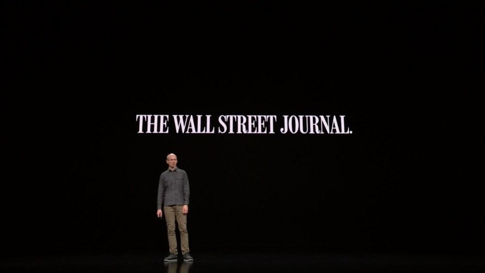 螢幕快照 2019 03 26 上午1.20.53 蘋果傳有意在新聞服務加入有聲內容,但可能無法獲得出版商同意