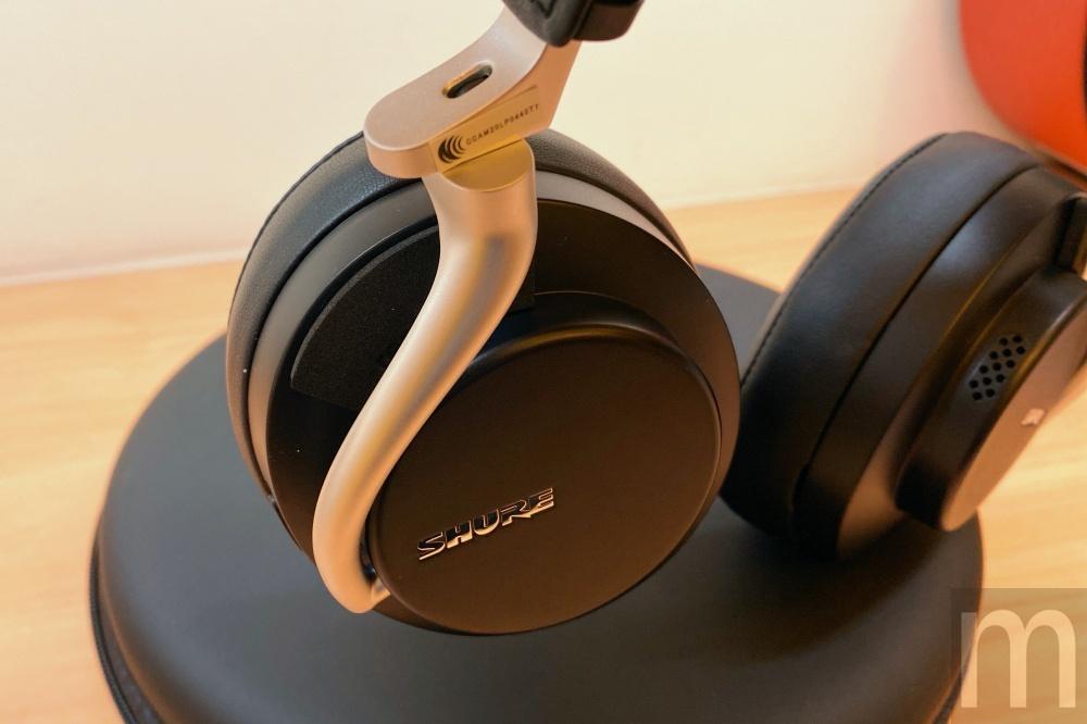 IMG 3126 動耳聽/Shure主動降噪藍牙耳機Aonic 50,對應長時間配戴使用需求