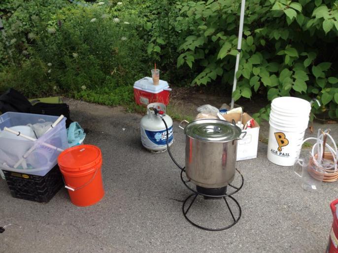 Brew day 7-27-14 11
