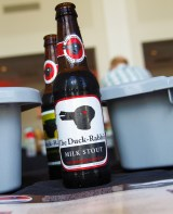 The Duck-Rabbit Craft Brewery (Farmville, North Carolina), the Dark Beer Specialist, poured up their classic Milk Stout alongside Hoppy Bunny American Black Ale.