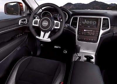 Салон, руль, консоль Джип Гранд Чероки 2012