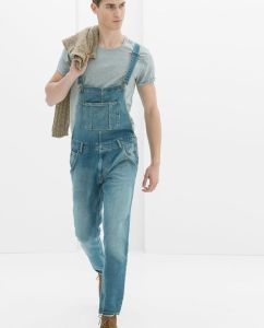 Dungarees from Zara