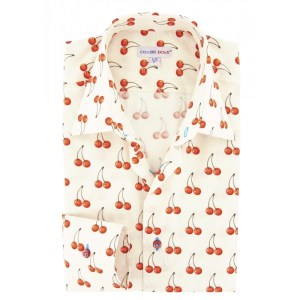 Cherry Print Fruit Shirt