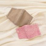 手縫いでつくれるキットシリーズ マスク&布ナプキン のご案内