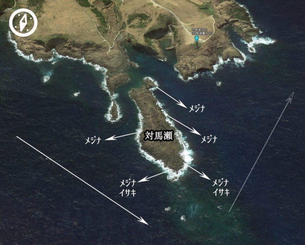 五島 対馬瀬