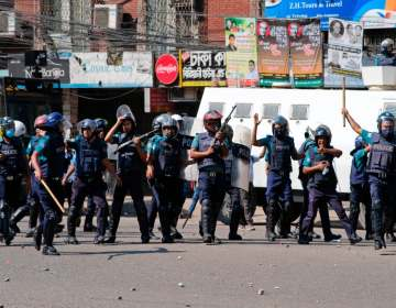 بنگلہ دیش میں ہندومسلم فسادات